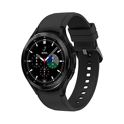 Samsung Galaxy Watch4 Classic 46mm SmartWatch Acciaio Inox, Ghiera Rotante, Monitoraggio Benessere, Fitness Tracker, Black 2021 [Versione Italiana]