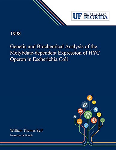 Genetic and Biochemical Analysis of the Molybdate-dependent Expression of HYC Operon in Escherichia Coli