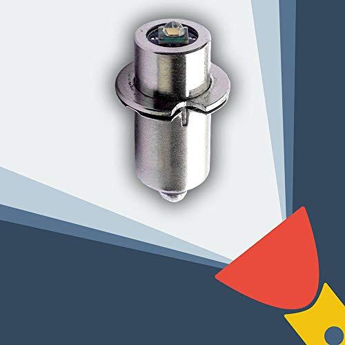 MagLite compatible MAG NUM-STAR II bi-pin Ampoule LED Conversion et pour lampe de poche MagLite Lampe torche à 3D/3C 4D/4C 5D 6D piles Lampe torche CREE