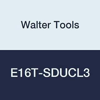 Walter Tools E16T-SDUCL3 Carbide Boring Bar, Left Hand, 1.299