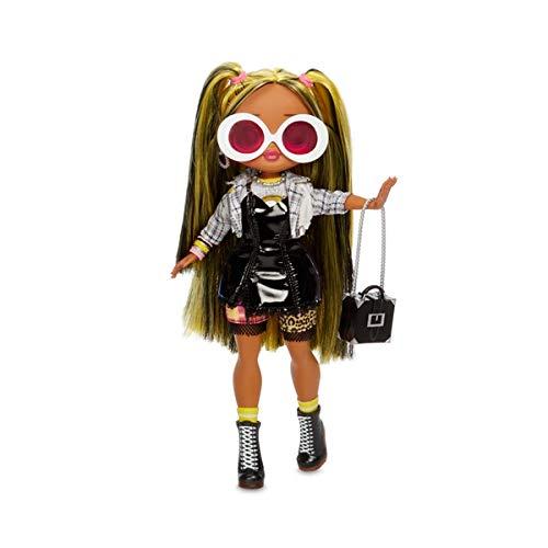 Giochi Preziosi O.M.G New Wonderful Fashion Doll Surprise - Alt Grrrl UNbox 20 Surprises