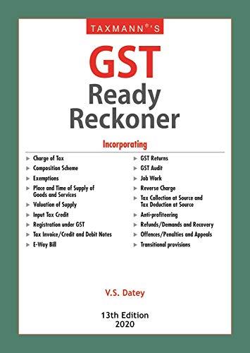 GST Ready Reckoner
