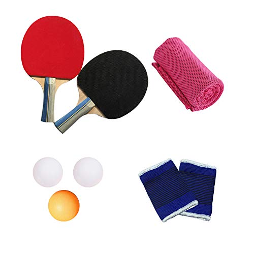 Fantastic Prices! KINDOYO Table Tennis Paddle Set - 2 Paddles 3 Balls for Professional Beginner, Set...
