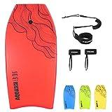 Best Bodyboards - AQUARM 41 inch Bodyboard with Premium Wrist Leash Review
