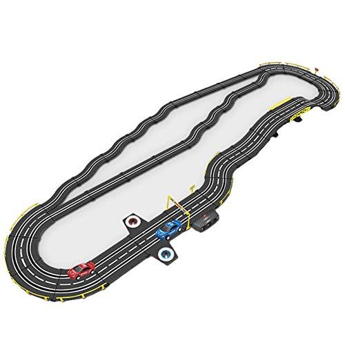 LINGLING Track Racing Set Toy Slot Car Race Tracks R/C Control Remoto de Alta Velocidad Speedway Niños y niñas Regalo de cumpleaños Montaje Creativo eléctrico