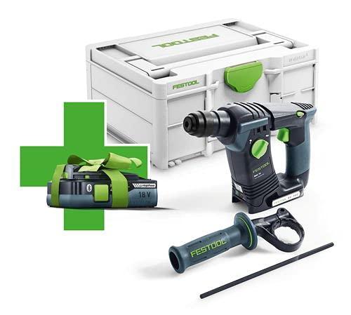 Festool 577057 BHC 18 Basic-4,0 Cordless Hammer Drill