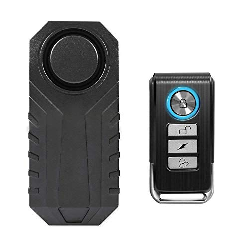 Wsdcam Bike Alarm with Remote