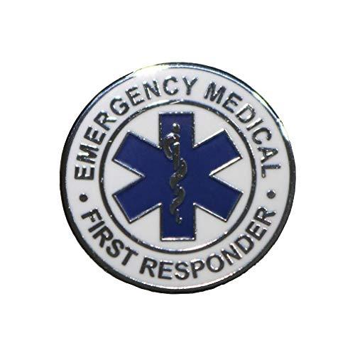 Emergency Medical First Responder Lapel Pin EMR EMT EMS Rescue - A 135