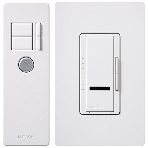 Lutron Electronics MIR-603THW-WH 3-Way Maestro Smart Dimmer, White