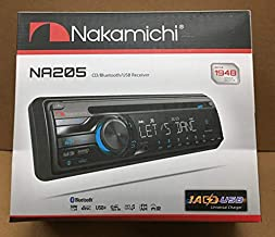 Nakamichi NA205 Bluetooth Single Din CD USB Aux Car Radio Stereo