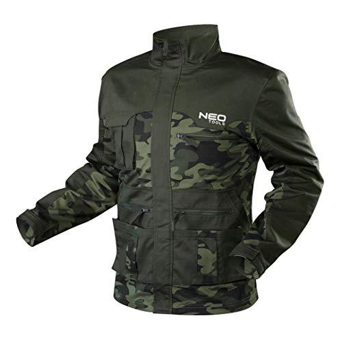 NEO TOOLS Arbeitsjacke | Größe XL | CAMO | Werkstatt Arbeitskleidung | Arbeitsschutz Fabrik | EN ISO 13688:2013