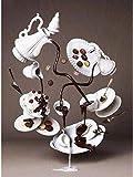 YYTTLL Pittura Diamante 5D Arte Pieno Rotondo Fai da Te Torta al Cioccolato Tazza Ricamo Display Punto Croce Cibo Mosaico Puzzle 40X50 Cm