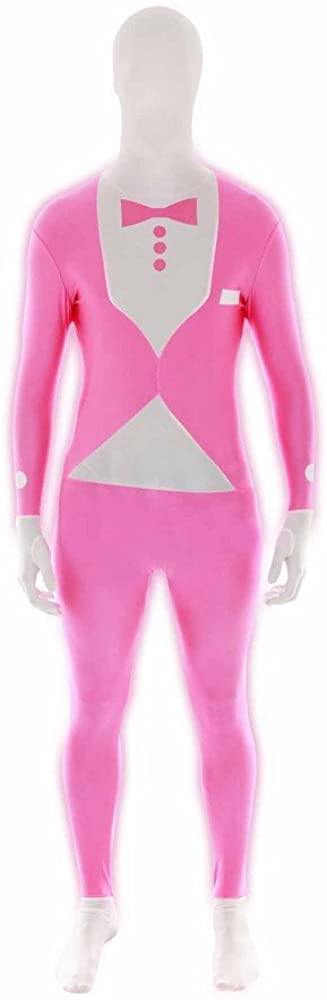CHEAP UV NEON GLOW MORPHSUIT FANCY DRESS COSTUME STAG DO PARTY OUTFIT MORPHSUITS