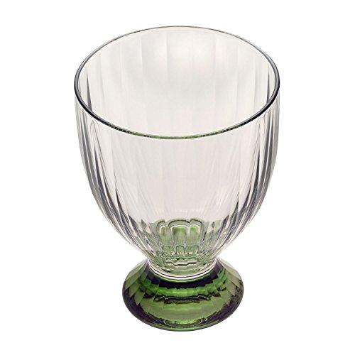 Villeroy & Boch Artesano Original Vert Weinglas, 390 ml, Kristallglas, Klar/Grün