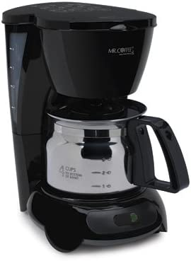 high quality Mr. Coffee 4 high quality Cup Coffee sale Maker with Stainless Steel Carafe online
