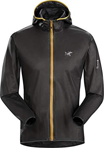 Arc'teryx Norvan SL Hoody Men's | Gore-Tex Running Jacket | Black/Photon, Small