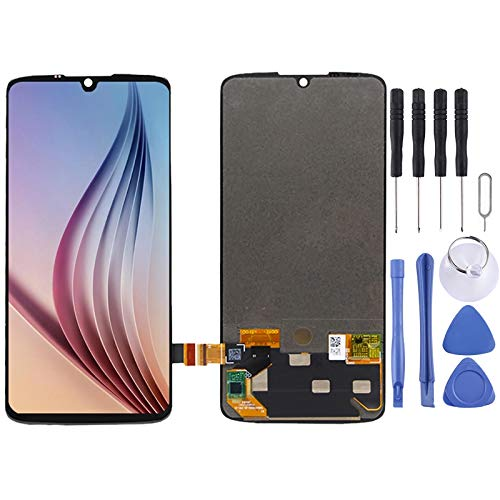 TANNGDIFNJAUN Cell Phone Replacement Parts LCD Screen and Digitizer Full Assembly for Motorola Moto Z4 Cell Phone Displays
