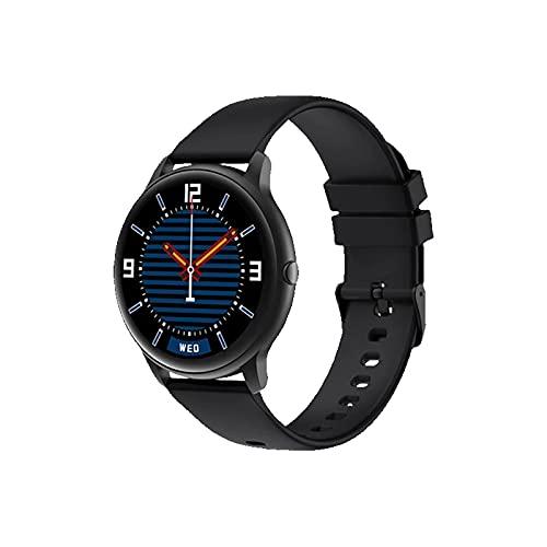 ZGLXZ Smart Watch Bluetooth 5.0 Pulsera Inteligente Reloj Deportivo Ejercicio Ejercicio Fitness Tracker IP68 Reloj Inteligente Impermeable para iOS/Android,Negro