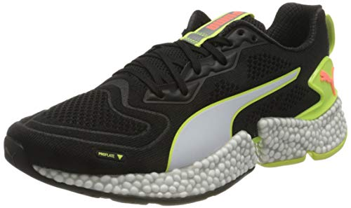PUMA Speed Orbiter, Zapatillas de Running Hombre, Negro Black/Fizzy Yellow/Nrgy Peach White, 40 EU