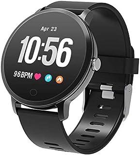 WUAZ Inteligente Reloj Bluetooth, Reloj Inteligente a Prueba de Agua Reloj de la Aptitud IP68 con Monitor de Ritmo cardíaco, Monitor del sueño, Control de Actividad podómetro