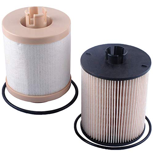 FD-4617 Fuel Filter Replacement Compatible with Ford Motorcraft F-250 F-350 F-450 F-550 6.4L Powerstroke Diesel Engines 2008 2009 2010