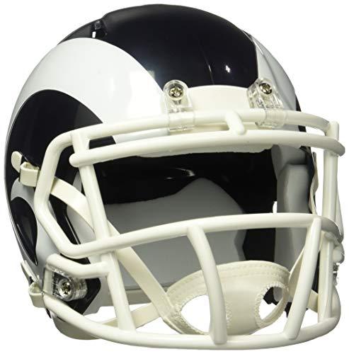 Riddell NFL Los Angeles Rams Speed Mini Fußballhelm, Weiß, Größe M