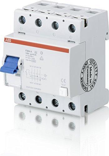 ABB Earth Leakage Circuit Breaker 63A/0.03F204A 63 by ABB