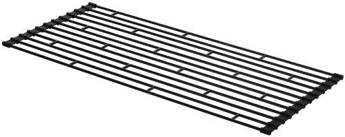 山崎実業 折り畳み水切りラック L ブラック 約W26×D58×H0.8cm タワー 7836