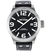 TW Steel Men's TW622 Icon Black Dial Watch