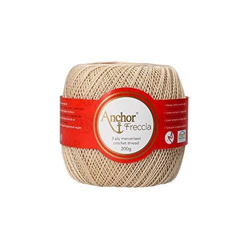 Anchor Hilos De Crochet Freccia, Fuerza: 8, Embalaje: 200g, Longitud: 780m 387