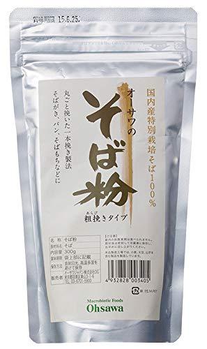 オーサワ そば粉(荒挽) 300g