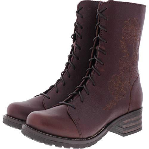 Brako / Modell: Military Pull/Cuero Braun Leder/Stiefel/Art: 8468 / Damen Stiefel Größe 40 EU