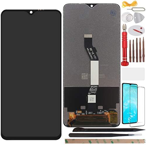 YHX-OU 6.53' para Xiaomi Redmi Note 8 Pro Pantalla LCD Juego de digitalizador táctil de repuesto con herramienta de instalación + 1 protector de pantalla (negro)
