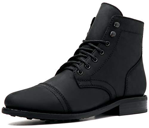 Thursday Boot Company Rugged & Resilient Captain Men's Lace-up Boot, Black Matte, Size 10