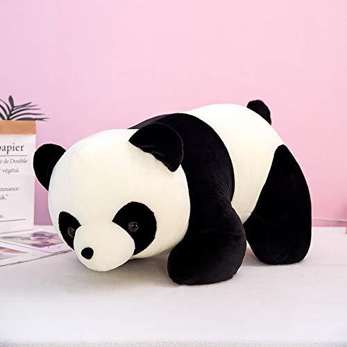 Lindo muñeco de Peluche Panda, niños 35cm Blanco y Negro