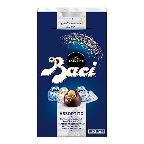 Baci Perugina Cioccolatini Assortiti Ripieni al Gianduia e Nocciola Intera - 200 gr