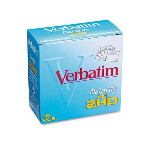 Verbatim DataLife High Density 3.5 inch Microdisks MF-2HD 10 Diskettes Per Pack