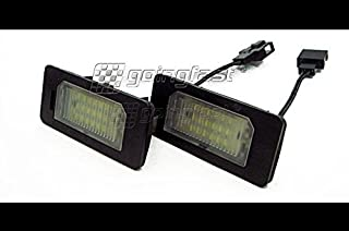 LED Number License Plate Lights For Audi A4 S4 B8 A5 A6 A7 Q5 TT VW Passat B6 Wagon