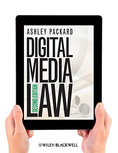 Compare Textbook Prices for Digital Media Law 2 Edition ISBN 9781118290729 by Packard, Ashley