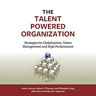 The Talent Powered Organization     Strategies for Globalization, Talent Management and High Performance              Written by:                                                                                                                                 Peter Cheese,                                                                                        Robert J. Thomas,                                                                                        Elizabeth Craig,                   and others                          Narrated by:                                                                                                                                 Brian Troxell                      Length: 9 hrs and 23 mins     Not rated yet     Overall 0.0