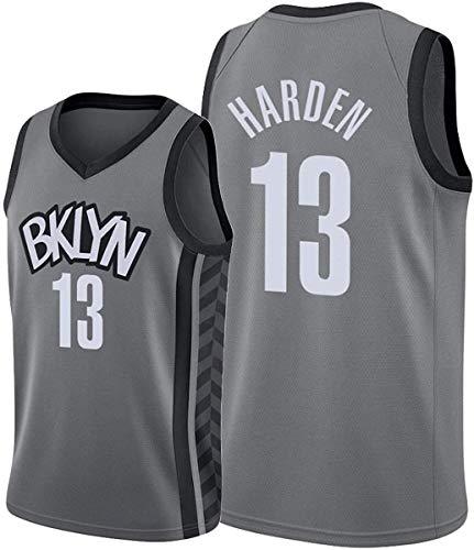 WSWZ Camiseta De Baloncesto De La NBA para Hombre - Brooklyn Nets NBA 13# Camisetas De James Harden - Chalecos Casuales Camisetas Deportivas Camisetas Sin Mangas,B,M(170~175CM/65~75KG)