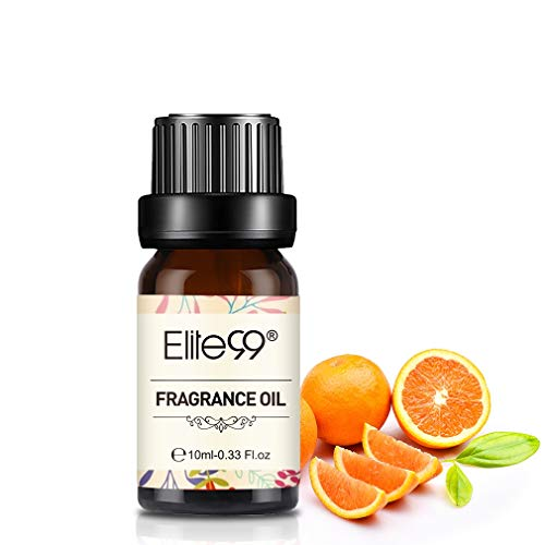 Elite99 Aceites de Fragancia, Aceites Esenciales para Humidificadores, Aceites de Aromaterapia de mandarín 10ML