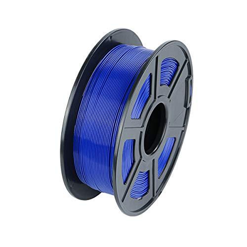 VOMI Filamento PLA 1.75mm, Sin Enredos/Envasado al Vacío, 3D Printer Filament PLA 1KG Spool (2,2 lb), Filamento PLA para Impresora 3D, 3D Pen, Dimensional Accuracy +/- 0.02 mm, Azul