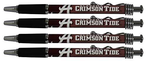 Alabama Crimson Tide Jazzy Pen 4pk (20)