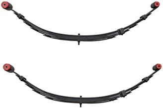 Pro Comp 22210 Pair of Front Black Powder Coated Leaf Springs