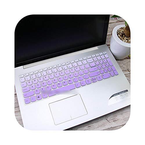 GradualPurple - Teclado para Lenovo Ideapad 15.6' 320 330 330s 340s 520 720S 130 S145 L340 S340 2018 2019
