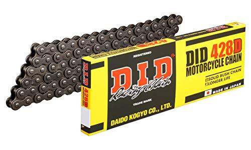D.I.D(大同工業)バイク用チェーン クリップジョイント付属 428D-118RB STEEL(スチール) 二輪 オートバイ用
