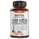 Apple Cider Vinegar Capsules - 3X Potency 1950mg - Weight Loss, Detox & Cleanse - Diet Pills for Women & Men, Keto Belly Fat Burner, Appetite Suppressant, Energy Supplement, Immune Support