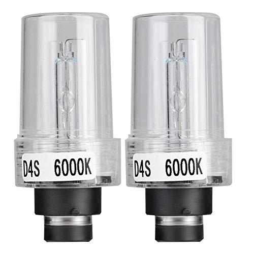 Fari AlloXeno Anteriore 2pz D4S 6000K 35W Xenon Lamp Car Xenon Faro Lampadine Long Life Safety Alta luminosità