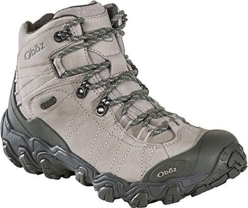 Oboz Bridger Mid B-Dry Hiking Boot - Women's Frost Gray 7